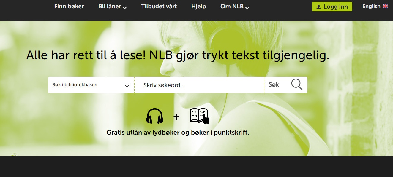 Bilderesultat for norsk lyd- og blindeskriftbibliotek